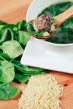 Italienische Hochzeits-Suppe Lizenzfreie Stockfotos