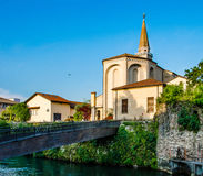 Italienische Kathedrale Lizenzfreies Stockfoto