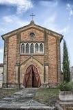 Italienische Land-Kirche Stockfotografie