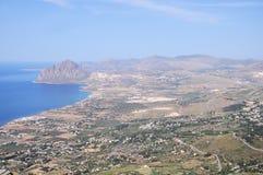 Italienische Landschaft. stockfotos