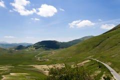 Italienische Landschaft Stockfotografie
