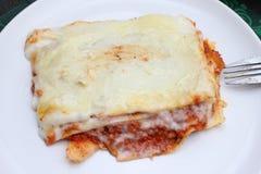 Italienische Lasagne stockfoto