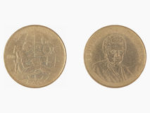 200 italienische Lire Münze Lizenzfreie Stockfotografie