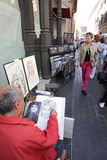 Italienische Maler Lizenzfreies Stockbild