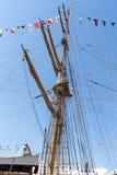 Italienische Marine-Schiff, Amerigo Vespucci Lizenzfreies Stockfoto