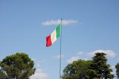 Italienische Markierungsfahne stockbilder