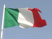 Italienische Markierungsfahne Lizenzfreie Stockbilder