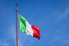 Italienische Markierungsfahne Lizenzfreie Stockfotos