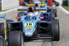 Italienische Meisterschaft F4 angetrieben durch Abarth lizenzfreie stockfotografie