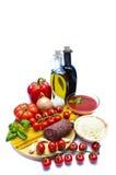 Italienische Nahrung Stockfotografie
