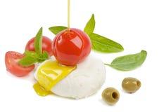 Italienische Nahrung Stockfotos
