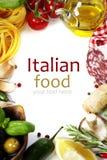 Italienische Nahrung. Lizenzfreie Stockfotografie