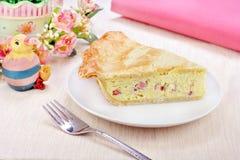 Italienische Ostern-Torte Stockbild