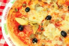 Italienische Pizza Lizenzfreies Stockfoto