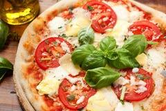Italienische Pizza Stockfoto