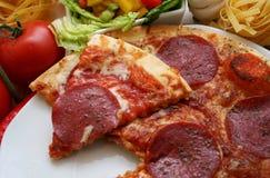 Italienische Pizza stockbild