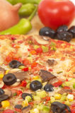 Italienische Pizza Lizenzfreie Stockfotos