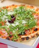 Rucola Pizza Lizenzfreies Stockbild