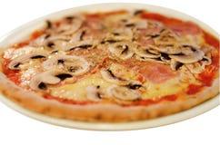 Italienische Pizza lokalisiert Stockfotos