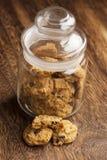 italienische Plätzchen, biscotti mit Mandel Lizenzfreies Stockbild