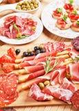 Italienische Prosciuttodi Parma Stockfoto