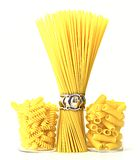 Italienische rohe Teigwaren Lizenzfreies Stockbild