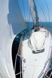Italienische Segelboote Rovigo Stockbilder