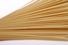 Italienische Spaghettis oder Makkaroni Stockfotos