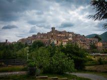 Italienische Stadt Lizenzfreies Stockbild
