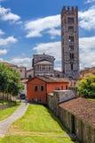 Italienische Stadt von Lucca lizenzfreie stockfotografie