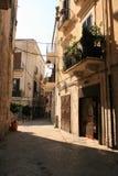 Italienische Straße, Bari lizenzfreie stockfotografie