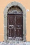 Italienische Tür Lizenzfreie Stockbilder