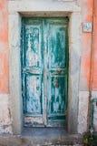 Italienische Tür Lizenzfreies Stockfoto