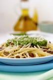 Italienische Teigwaren. Stockfotos