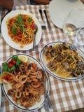 Italienische Teigwaren stockbild