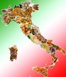 Italienische Teller lizenzfreie stockfotos
