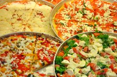 Italienische traditionelle Pizza Stockfotografie