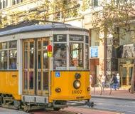 Italienische Tram in San Francisco Lizenzfreie Stockbilder