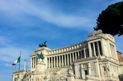 Italienischer Altar des Vaterlands Stockfotos