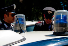 Italienischer Arm von carabinieri Lizenzfreies Stockfoto