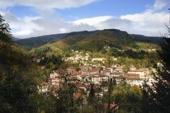 Italienischer Berg (appennino) Stockfotografie