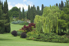 Italienischer Garten Lizenzfreies Stockbild
