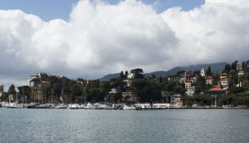 Italienischer Hafen Lizenzfreies Stockfoto