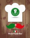Italienischer Hauptkoch Lizenzfreies Stockbild