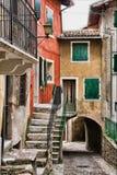 Italienischer Hinterhof Lizenzfreies Stockfoto