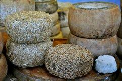 Italienischer Käse Stockfoto