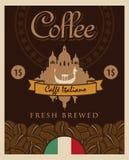Italienischer Kaffee Stockfotos
