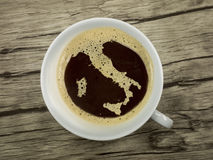 Italienischer Kaffee Lizenzfreies Stockbild