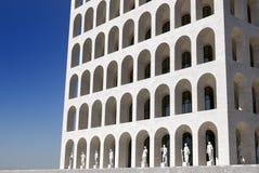 Italienischer Kultur-Palast, Rom, Italien Stockfotos