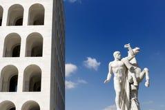 Italienischer Kultur-Palast, Rom, Italien Lizenzfreie Stockfotos